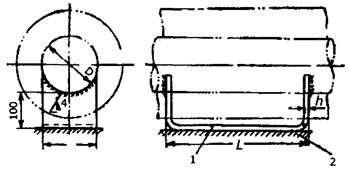 Опора скользящая типа ОС-1