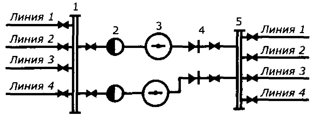 Схема обвязки центробежных