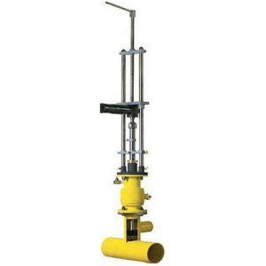 Устройство для врезки в трубопровод УВГ-50
